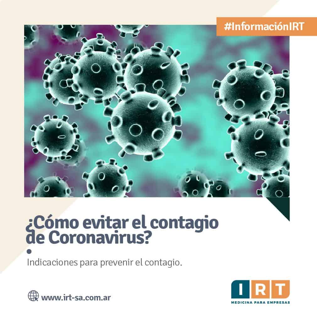 PREVENIR CORONAVIRUS IRT